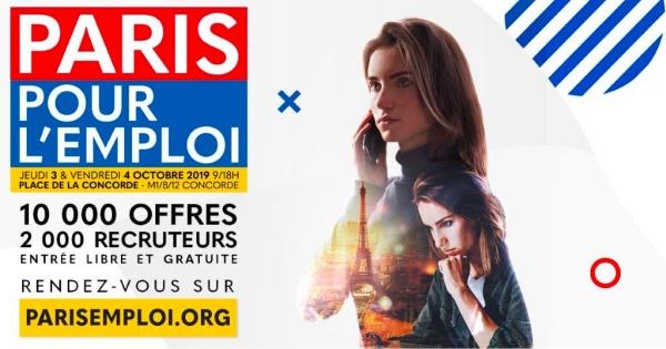 Rendez-vous au Paris pour l'emploi !